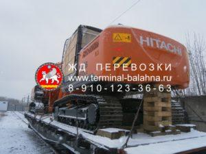 ЖД платформа для перевозки грузов